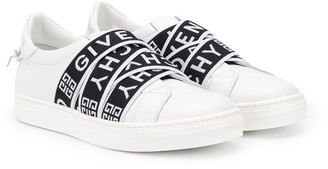 Givenchy Kids logo strap sneakers