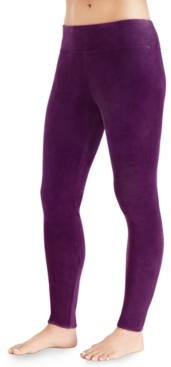 Cuddl Duds Double-Plush Velour Leggings