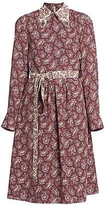 Chloé Paisley Silk Shirtdress