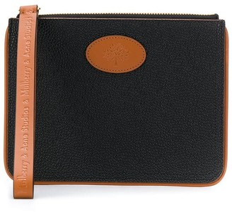 Mulberry x Acne Studios medium pouch