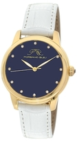 Lapis Gemma Lazuli Dial & Diamond Marker Watch, 38mm