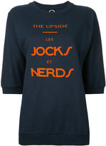 The Upside 'nerds' print sweatshirt - women - Cotton - XXS