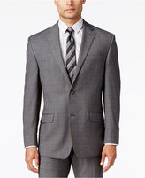 Sean John Men's Classic-Fit Gray Glen Plaid Jacket