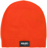 Kenzo logo patch beanie - women - Wool - One Size
