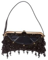 Fendi Beaded Frame Evening Bag