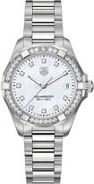 Tag Heuer WAY1314BA0915 aquaracer diamond and stainless steel watch