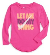 Nike Let Me Do My Thing Graphic Tee (Toddler Girls & Little Girls)
