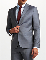 J.lindeberg Wool Slim Fit Suit Jacket, Dusty Blue