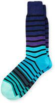 Paul Smith Fialor Striped Colorblock Socks
