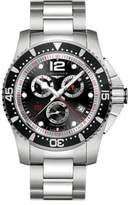 Longines Analog Stainless Steel Chronograph Bracelet Watch
