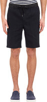 Vince MEN'S TECH-WAIST SHORTS-NAVY SIZE XL