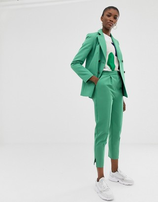 ASOS DESIGN slim suit pants In sage