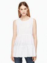 Kate Spade Poplin sleeveless top