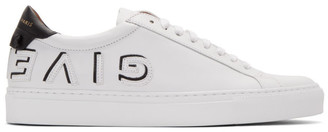 Givenchy White and Black Reverse Urban Street Sneakers