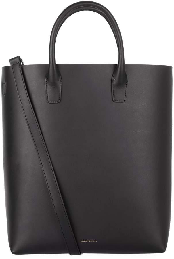 Mansur Gavriel North South Leather Tote Bag
