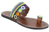 Mia Women's Beaded Toe Loop Sandal