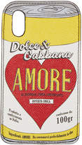 Dolce & Gabbana Black Amore Energy iPhone X Case