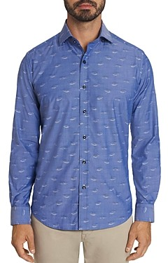 Robert Graham Mauser Car Embroidered Classic Fit Button-Down Shirt - 100% Exclusive