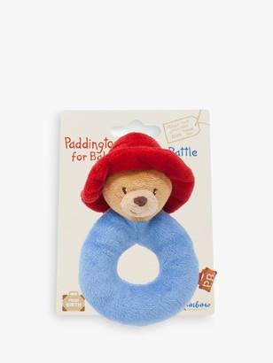 Rainbow Designs Paddington Bear Soft Ring Rattle