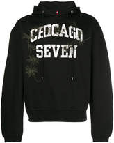 Oamc Chicago print hoodie