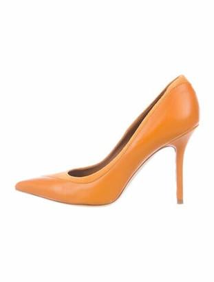 Malone Souliers Leather Pumps Orange
