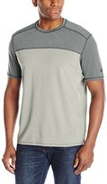 G.H. Bass Men's Short Sleeve Explorer Colorblock Second Skin Tee