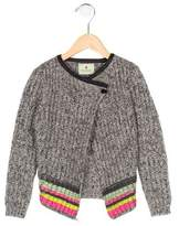 Scotch R'Belle Girls' Mohair-Blend Printed Cardigan w/ Tags