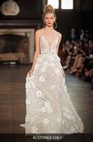 Women's Berta V-Neck Applique A-Line Gown
