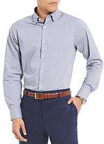 Hart Schaffner Marx Mini Houndstooth Long-Sleeve Sportshirt