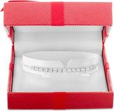 Wrapped WrappedTM Diamond Slider Bolo Bracelet (1/2 ct. t.w.) in Sterling Silver