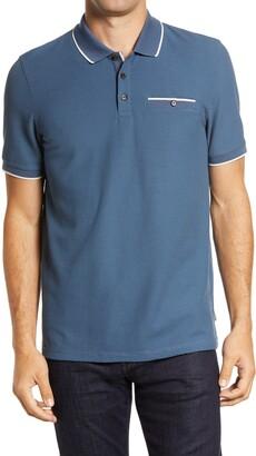 Ted Baker Chorus Cotton Blend Polo Shirt