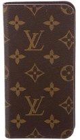 Louis Vuitton 2017 Monogram iPhone 6s Folio Case