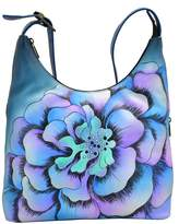 Anuschka Hand-Painted Leather Large Hobo