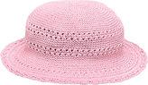 San Diego Hat Company Girls' Cotton Crochet Hat CHL9