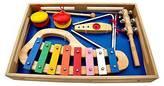 Schoenhut Piano Band-in-A-Box, Xylophone, Jingle Stick, Triangle, Castanets, ...