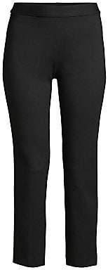 Josie Natori Women's Ponte Crop Trousers