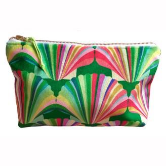 Chloe Croft London Limited Luxury Rainbow Velvet Cosmetic Bag