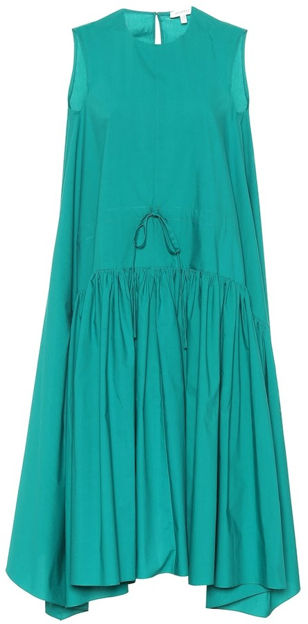 DELPOZO Cotton swing dress