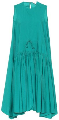 DELPOZO Cotton swing dress