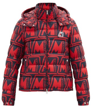 Moncler Frioland Down-filled Hooded Shell Jacket - Red Multi