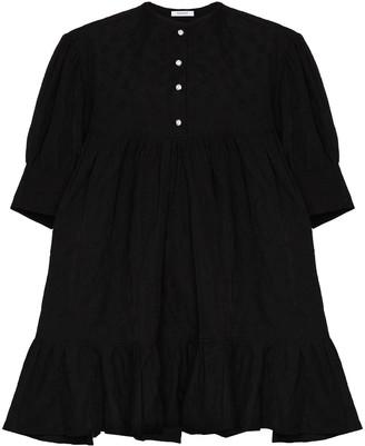 NACKIYÉ Peplum Hem Mini Dress