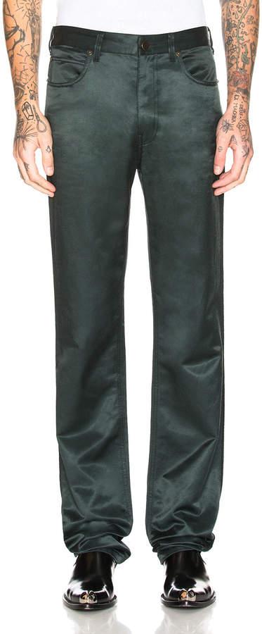Calvin Klein Satin Uniform Pants
