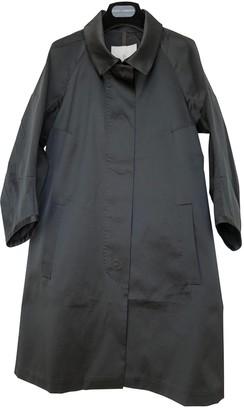 Moncler Long Black Polyester Jackets