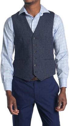 Reiss Reynolds Slim Fit Mixer Waistcoat Vest