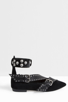 Isabel Marant Linzy Ankle Strap Flats