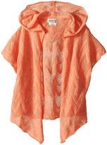 Lucky Brand Kids Drapey Hooded Kimono (Little Kids)
