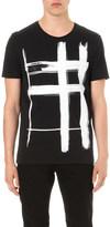 Burberry Check-motif cotton-jersey t-shirt