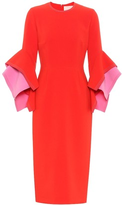 Roksanda Ronda crepe dress