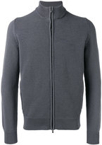 Malo textured zip cardigan - men - Cotton - 52