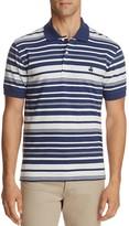 Brooks Brothers Heather Stripe Performance Slim Fit Polo Shirt